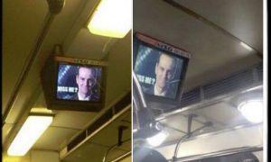 Хакеры взломали рекламные мониторы в украинском метро