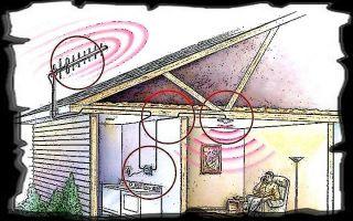 Усиление сигнала сотовой связи на даче