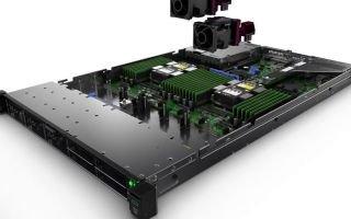 Сервер HPE ProLiant DL360 Gen10: преимущества покупки