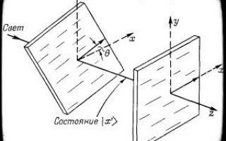 Основные свойства поляризованных фотонов