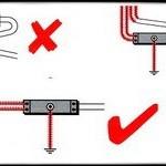 Совместная прокладка телекоммуникационных и питающих кабелей