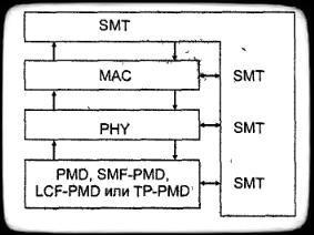 структура стандарта fddi